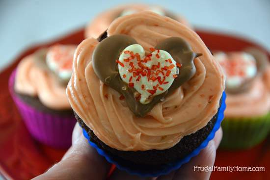 Yummy Cupcakes for Valentine's Day