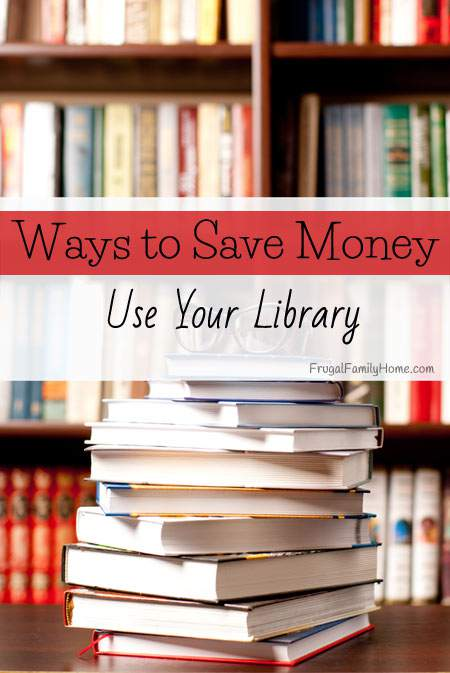 Use the Library to Save Money