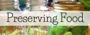Preserving Recipes
