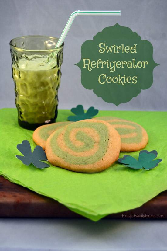 Swirled Refrigerator Cookie Recipe
