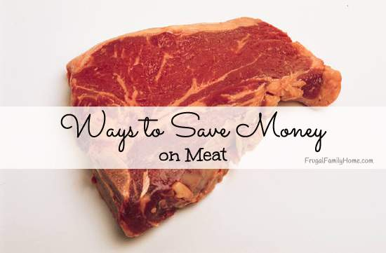 Ways to Save Money on Meat