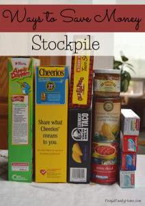 Stockpiling to save money