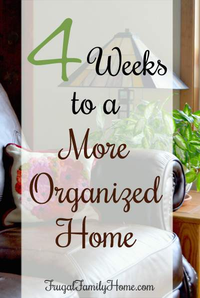 Day one of the more organized home challenge