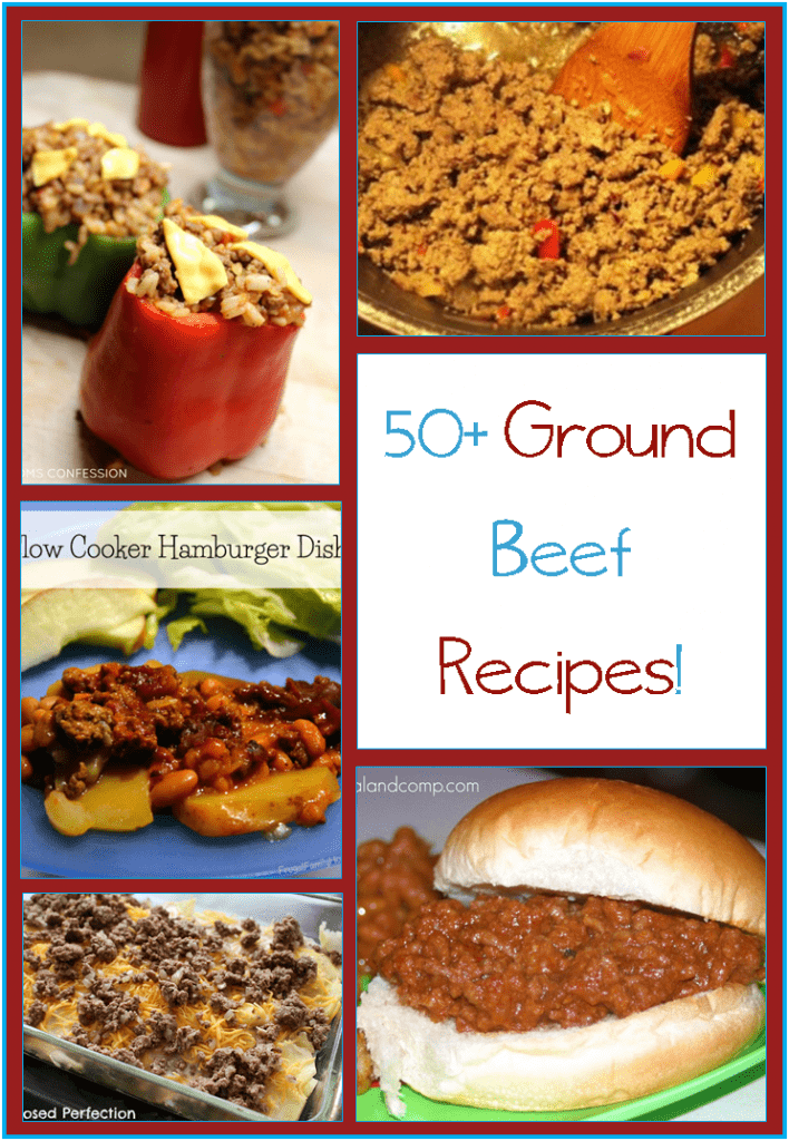 Find 50+ yummy ground beef recipes for when you are going to be freezer cooking.
