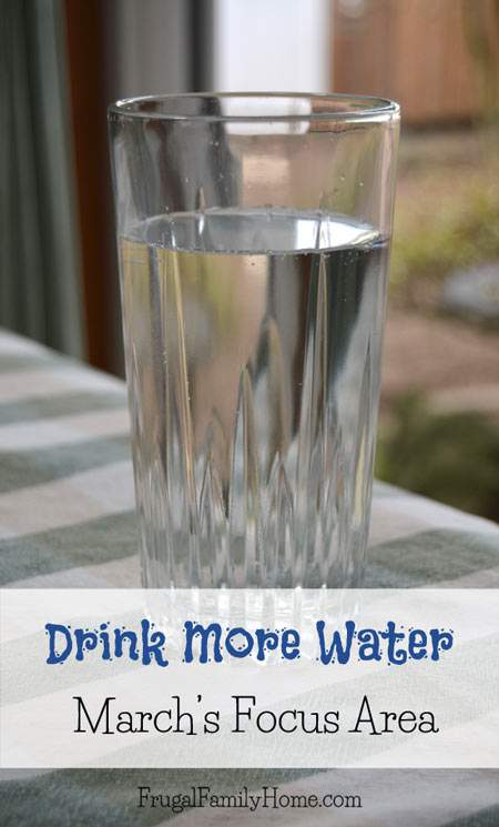 Drink More Water for the Month of March