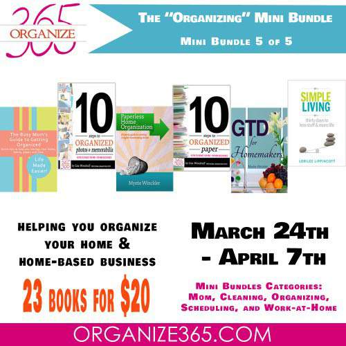 Organizing Bundle