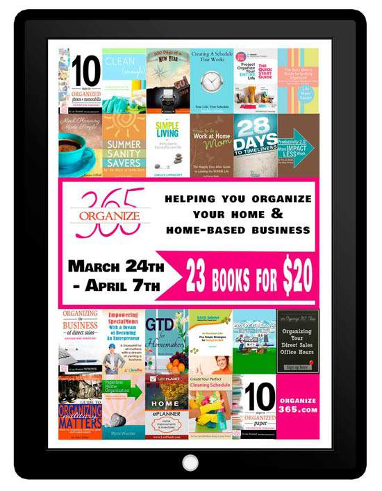 Organize ebook Bundle Sale Just $20 for 23 ebooks
