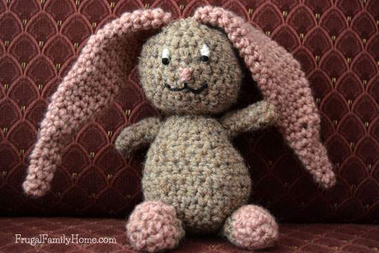 Cute Crochet Bunny Project for Easter