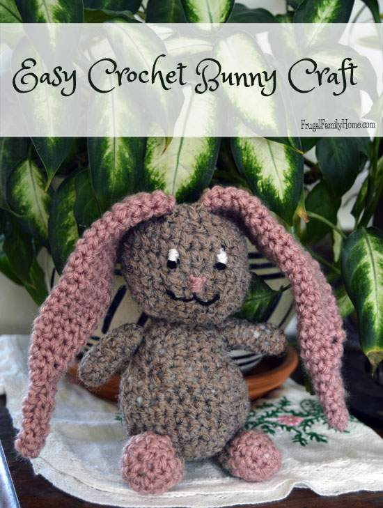 Cute Crochet Bunny Gift Idea