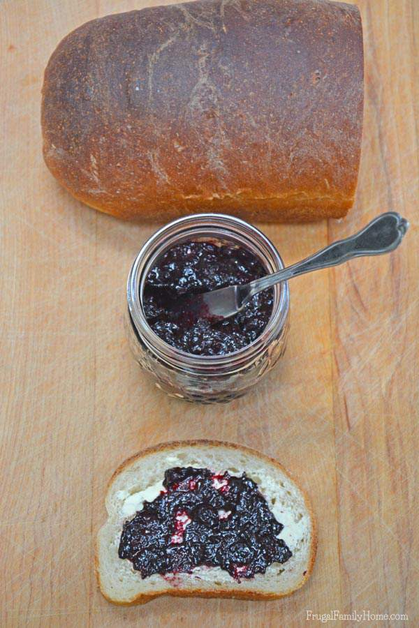 No Pectin Blueberry Jam