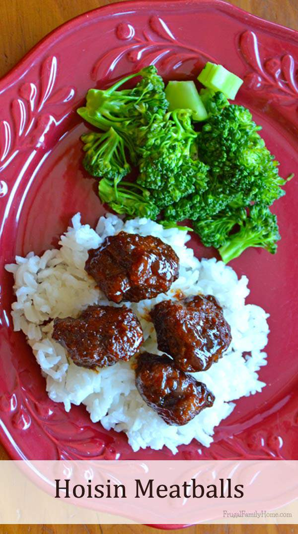 Yummy Tangy Hoisin Meatballs