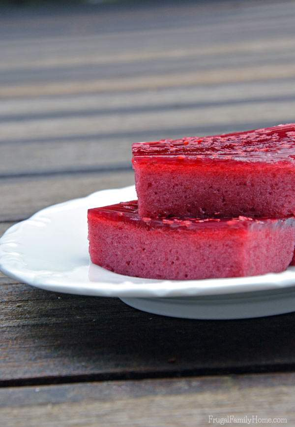 Yummy and Quick to Make Fluffy Jello Squares, Frugal Family Home