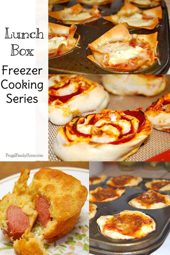 Lunchbox Freezer Cooking Series Frugal Family Home