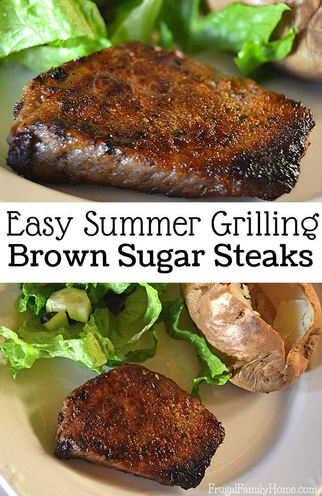 I love this easy grilled steak recipe! This steak recipe is easy to prepare. It just takes a few simple ingredients to make the marinade and in a few hours you can grill it. Or if you're in a hurry you can get to grilling right away. It's the best steak recipe I think I've ever tried.