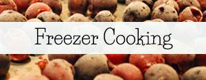Check out our freezer cooking posts