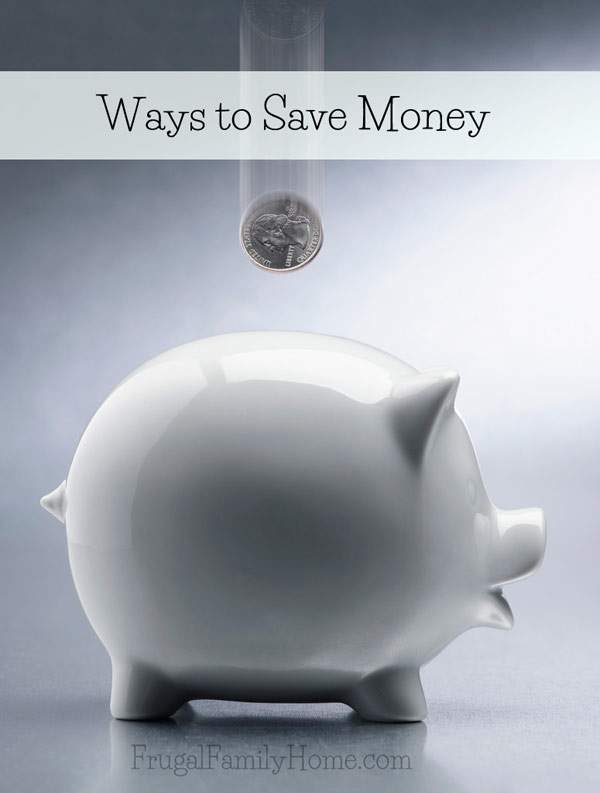 Ways to Save Money Series