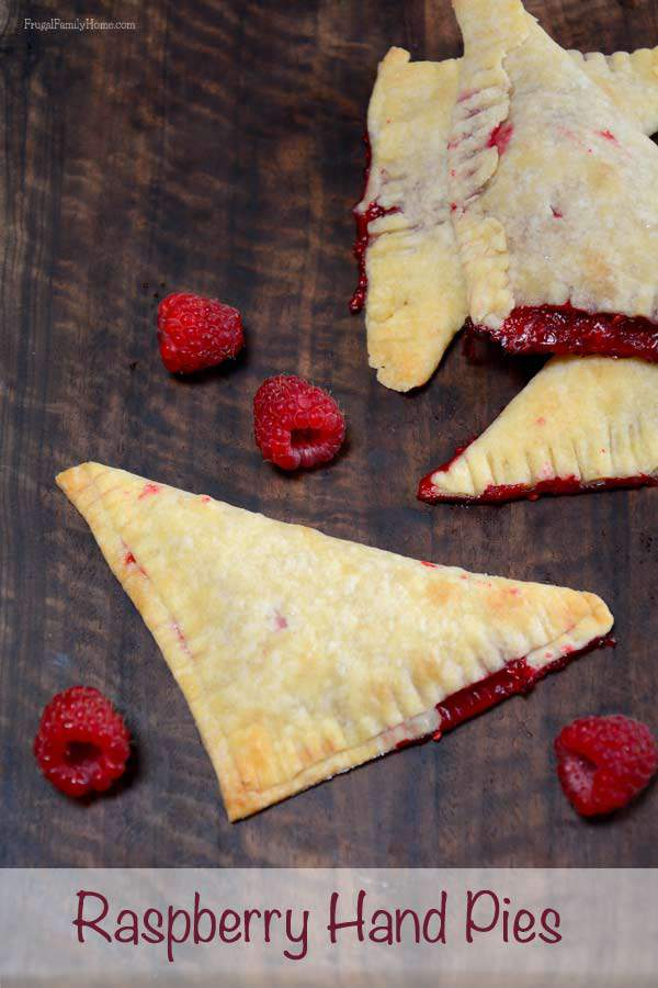 Delicious Raspberry Hand Pies | Frugal Family Home