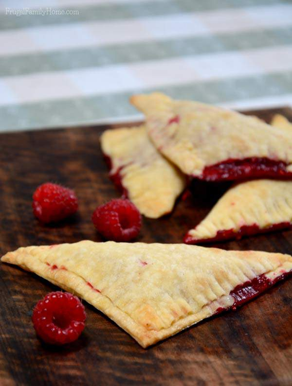 Raspberry Hand Pie Recipe | Frugal Family Home