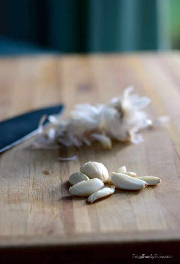 Peeling garlic can be tedious here's how to make the job easier | Frugal Family Home