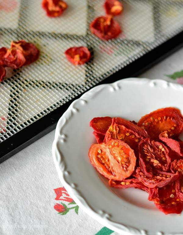 How to dry tomatoes in a dehydrator | Frugal Family Home