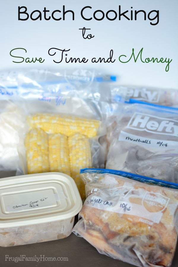 Batch cooking can save you time and money | Frugal Family Home