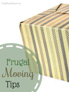 Frugal Moving Tips