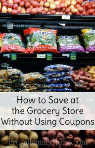 How to Save at the Grocery Store without Coupons