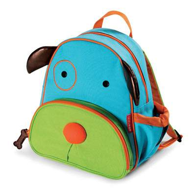 What a cute and practical backpack for a child.