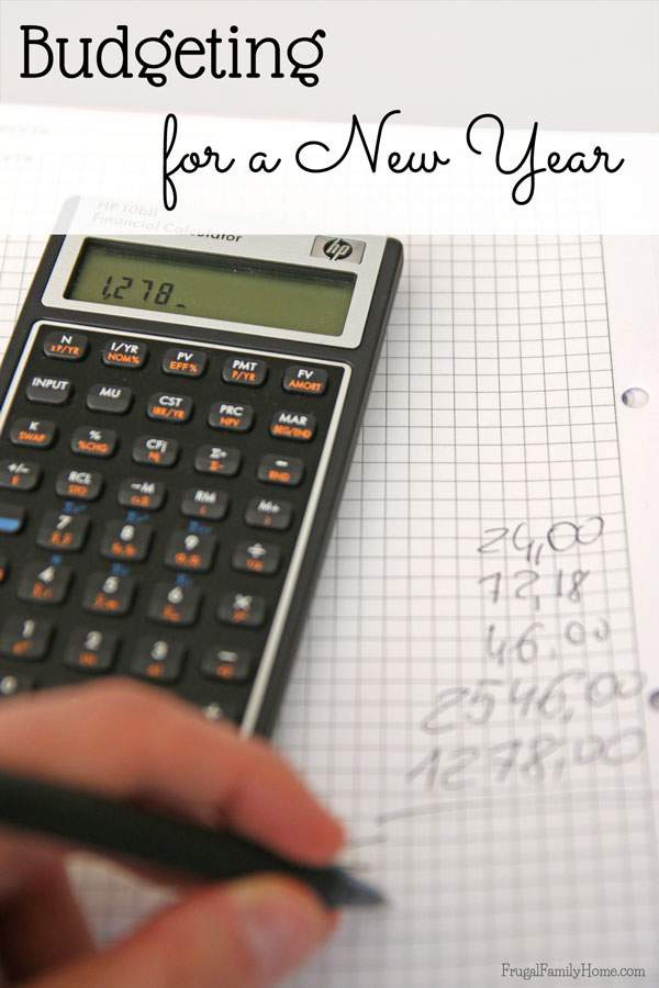 How did you do on your budget from last year? Whether you were a super star saver or spent too much, the new year is a great time of year to re-evaluate your budget and get a fresh start.