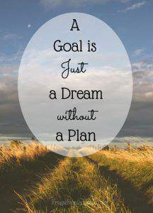 It's great to make goals for the new year. But without a plan your goals are just dreams. Make your plan today and reach your big goals this year.