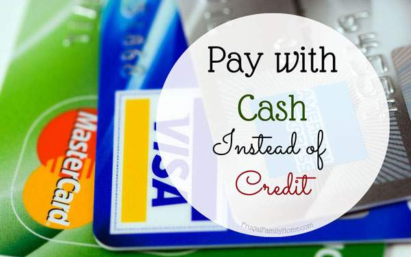 Do you tend to overspend when using credit or debit cards? A good solution is to go to a cash only spending system. It can curb overspending and help you see just where your money is going.