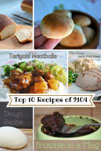 The Top 10 Recipes of 2014