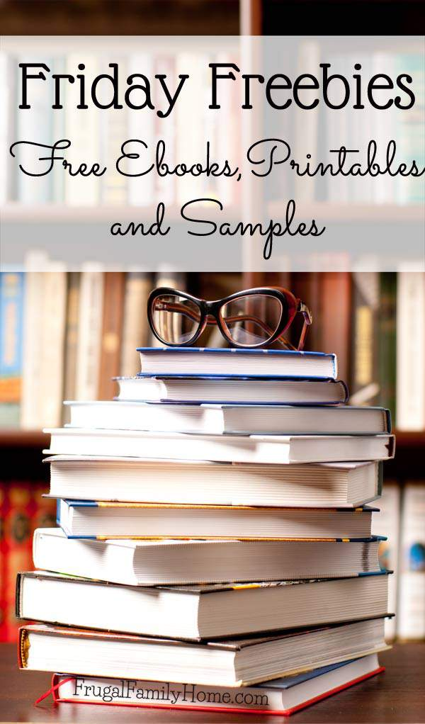 This week's free ebooks, samples and free printables