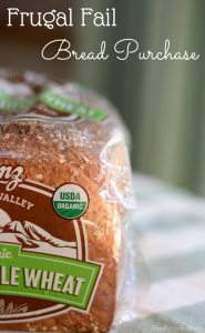 Frugal Fail, Cheap Bread Woes