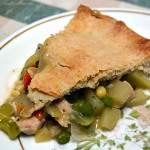 Make your own turkey pot pie instead of buying it in the freezer section. It's not as hard to make as you might think.