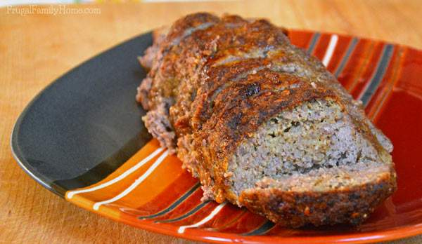 A favorite comfort food, easy to make meatloaf. It's also freezer friendly too.