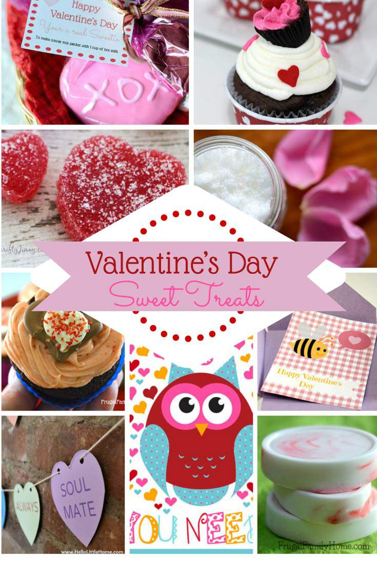 Sweet Treats, Valentines Day here's some great sweet treat you can make for your valentine.