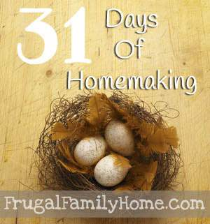 31-Day-of-Homemaking