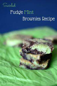 Fudge Mint Brownies Recipe