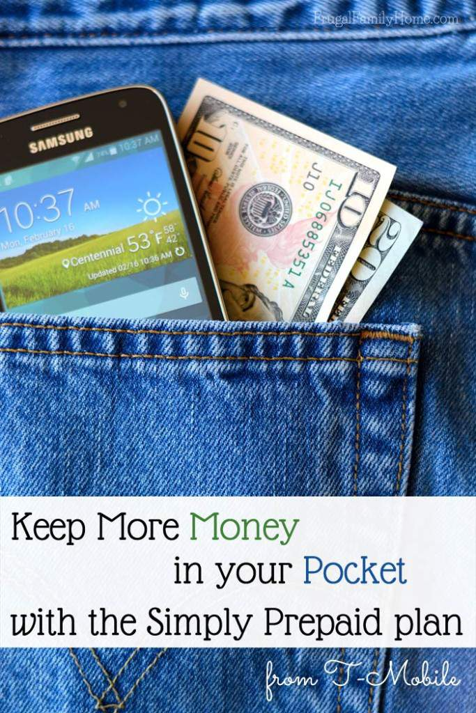 Keep more money in your pocket with the Simply Prepaid plan from T-Mobile. #ChangingPrepaid #Ad