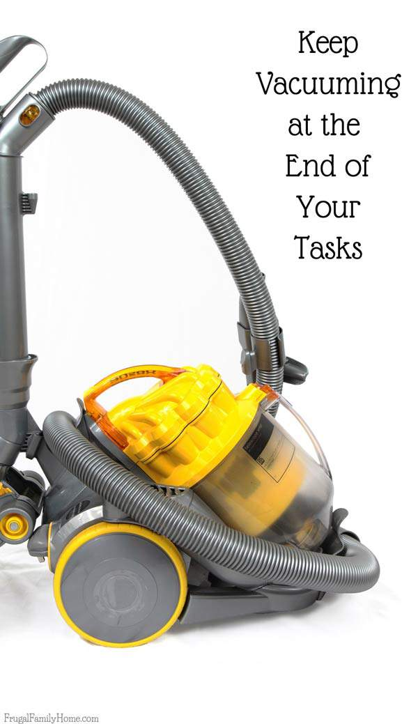 When spring cleaning the living room you'll wan to start at the top of the room and work your way down. Save vacuuming for the last step.