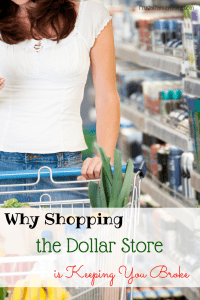 Just a few shopping tips to help you get the most out of your dollar when shopping the dollar store.