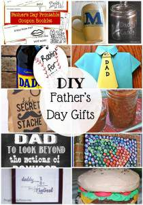 25 DIY Father's Day Gifts to make your that special guy in your life.