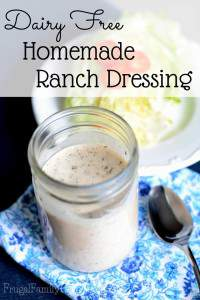 Dairy Free Ranch Salad Dressing Recipe