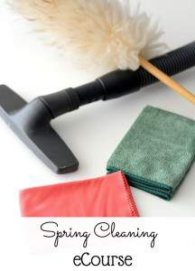 Spring Cleaning E-Course