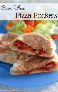 Skillet Pizza Pockets Recipe