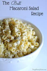 Best Macaroni Salad Recipe
