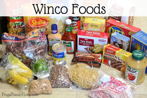 The deals I found at Winco Foods this week.