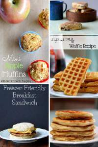 Freezer Friendly Breakfast Recipes and Tips