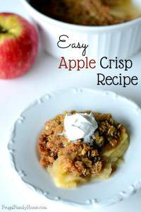 Delicious and Easy Apple Crisp Recipe